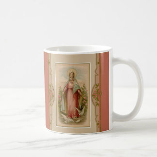 Blessed Virgin Mary Madonna with Doves Coffee Mug