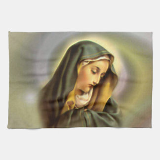 Blessed Virgin Mary - Mother of God Kitchen Towels