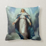 Blessed Virgin Mary - Mother of God Throw Pillow