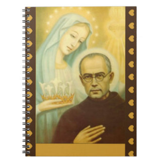 Blessed Virgin Mary St. Maximilian Kolbe Notebook