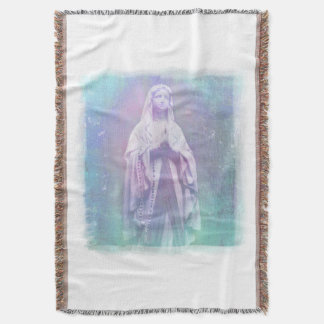 Blessed Virgin Mary Throw Blanket