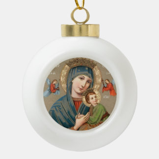 Blessed Virgin Mary with Child Jesus Ornament