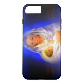Blessed Virgin Mary with Halo in Clouds iPhone 8 Plus/7 Plus Case