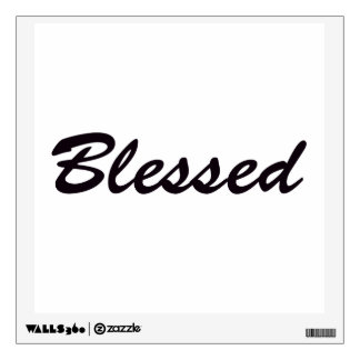 Blessed Wall Sticker