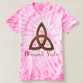 Blessed Yule Ladies Tie-Dye T-Shirt