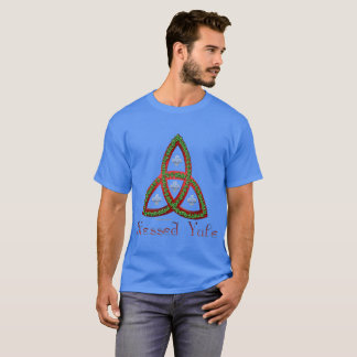 Blessed Yule Men's Dark T-Shirt