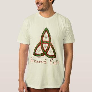 Blessed Yule Men's Organic T-Shirt