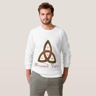 Blessed Yule Men's Raglan Sweatshirt
