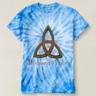 Blessed Yule Men's Tie-Dye T-Shirt