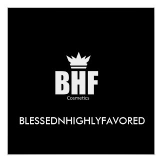 BlessednHighlyFavored Poster