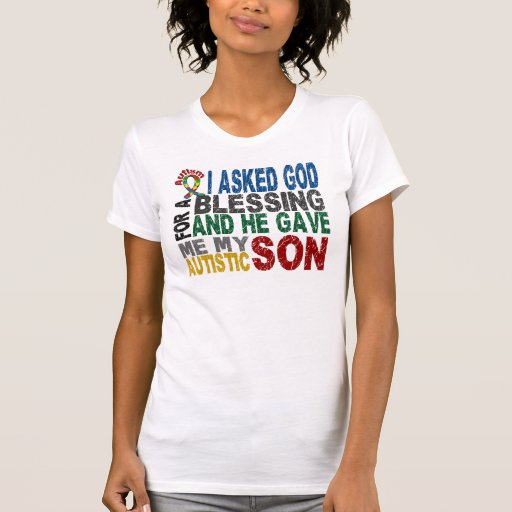 Blessing 5 SON Autism T-Shirts & Apparel