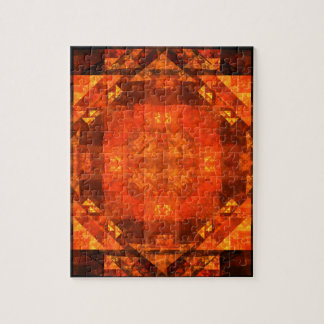 Blessing Abstract Art Jigsaw Puzzle