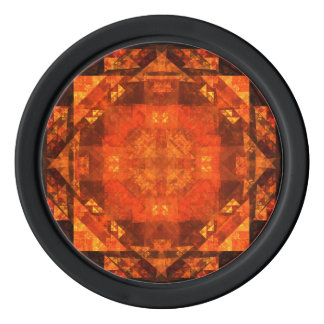 Blessing Abstract Art Poker Chips