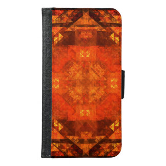 Blessing Abstract Art Wallet Case
