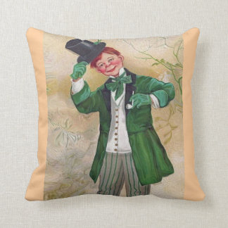 blessing and Irish gentleman Throw Pillow