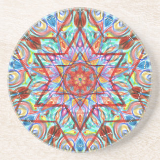 blessing by Sandrine kespi Coasters