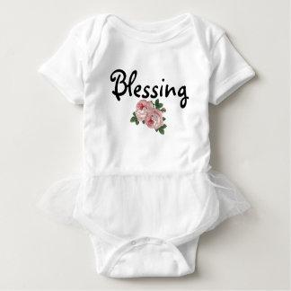 Blessing Floral Tutu Bodysuit