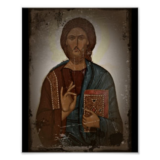 Blessing of Jesus Poster