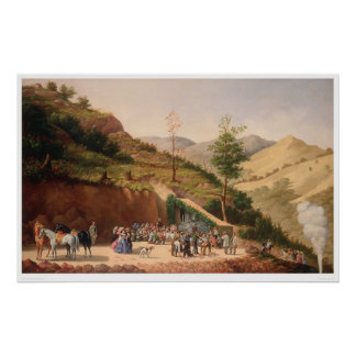 Blessing of the Enrequita Mine (0106A) Poster