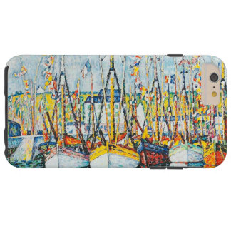 Blessing of The Tuna Fleet at Groix by Paul Signac Tough iPhone 6 Plus Case