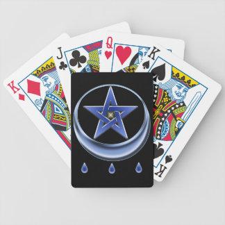 Blessing Symbol and pentagram Poker Deck