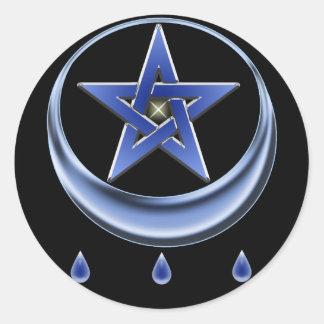 Blessing Symbol & Pentagram Sticker