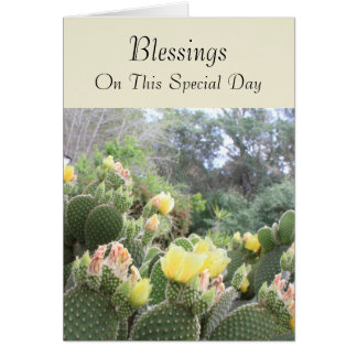 Blessings Adult Baptism Card