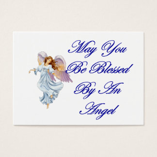 Blessings Card - May You Be Blessed By An Angel