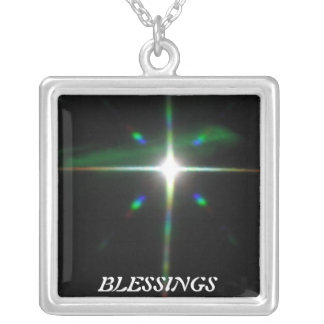 Blessings Necklace! Silver Plated Necklace