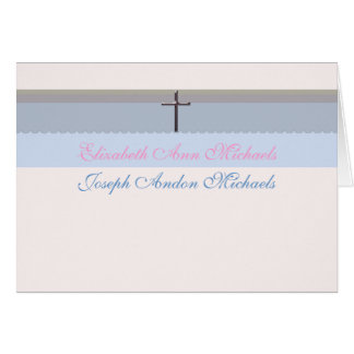 Blessings Photo Thank You Notecard