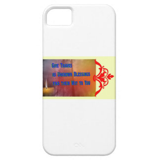 Blessings to You iPhone 5 Cover