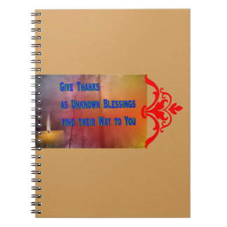 Blessings to You Notebooks