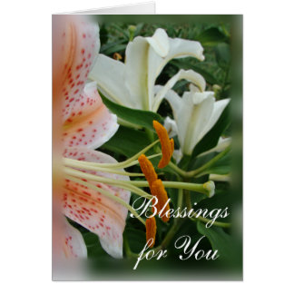Blessingsfor You-customize any occasion Card