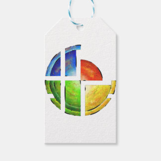 Blessinia - colourful sun pack of gift tags