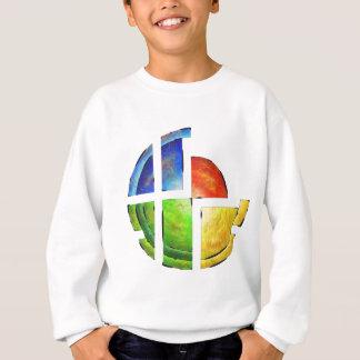 Blessinia - colourful sun sweatshirt
