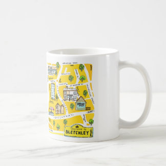 Bletchley (Milton Keynes0 illustration mug