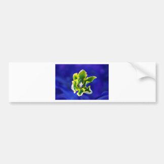Bleu Background.jpg de tulipe Autocollant De Voiture