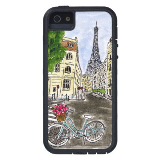 Bleu Bicycle Eiffel Case For The iPhone 5