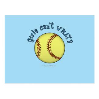 Bleu de Base-ball-Ciel Carte Postale
