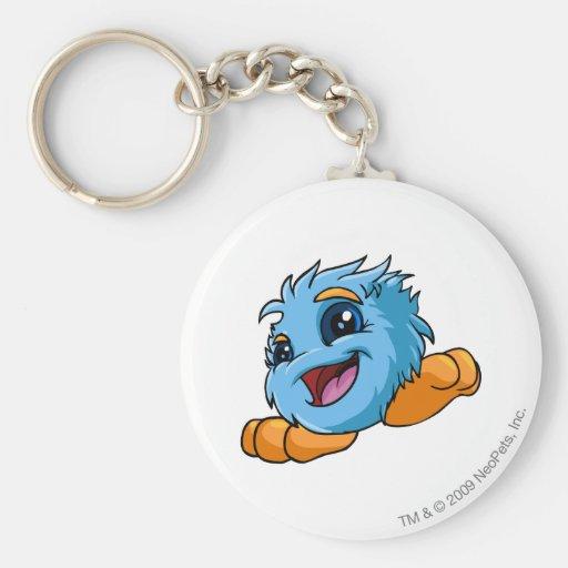 Bleu de JubJub Porte-clés