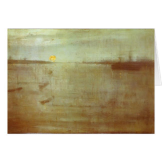 Bleu de nocturne de James Whistler-Whistler Carte