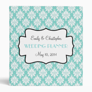 Bleu de Tiffany, pour vous classeur de mariage