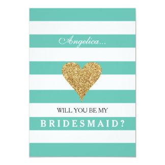 Bleu de Tiffany vous serez mon invitation de Carton D'invitation 12,7 Cm X 17,78 Cm