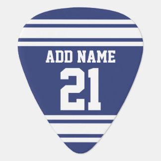 Bleu et blanc folâtre le nombre nommé fait sur onglet de guitare