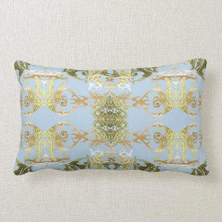 bleu lumbar pillow