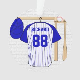 Bleu personnalisé de Jersey de base-ball