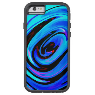 bleu protecteur dur de sentiment de Xtreme de cas Coque iPhone 6 Tough Xtreme