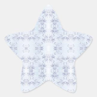 bleu star sticker