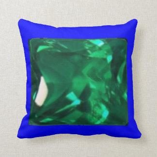 Bleu vert précieux de coussin équilibré par SHARLE