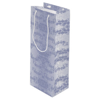 bleu wine gift bag